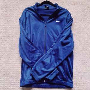 Nike Dri-Fit Blue Zip Jacket